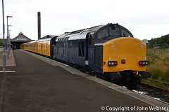 37621 at Wick (05-08-2018) (blackwatch55013) Tags: class37 37612 wick testtrain 1q78