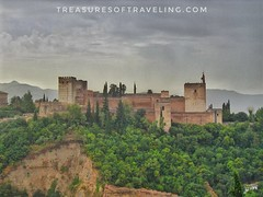 Looking up from the beautiful Arabic barrio called the Albaicín, you can see the majestic walls of the Alhambra on top of the cliff! This part of the palace and fortress complex is the #Alcazaba, which is one of the oldest parts of the Alhambra, which is (TreasuresOfTraveling) Tags: travelgram alcazaba travelphotography bestplacestogo alhambra traveltheworld guyswhotravel granada españa wanderlust gaytraveler españaviaje albaicín travelblogger globetrotter discoverearth fantasticearth worldtraveler europe andalusia treasuresoftraveling theglobewanderer spain worldtravel travelspain travelphotos sierranevadamountains passportstamps travelpics tourtheplanet