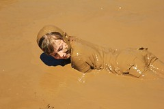 Mud Mania - Queeny Saint Louis County Park - 2018 (ParksStaff) Tags: mudmania queenypark saintlouis saintlouiscounty saintlouiscountypark kid child children funny fun humor hilarious cute adorable dirty health water color colorful beautiful life enjoy pleasure enjoyinglife innocent innocence park protected splash missouri usa expression