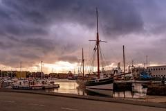 Tórshavn Seaport (christopherbischof) Tags: tórshavn färöer färöerinseln hafen harbor port seaport marina boot boote ship sailboat wolken clouds himmel sky fujifilm fujifilmxh1