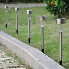 6 Pack Outdoor Stainless Steel LED Solar Power Light Garden Path Landscape Lamps (dmdecorandmore) Tags: all gardening supplies home garden yard outdoor living