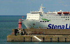 18 08 10 Stena Europe arriving Rosslare (8) (pghcork) Tags: stenaline ferry ferries carferry stenaeurope ireland wexford rosslare ships shipping