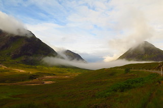 Buachaille Etive Mor and small freind.