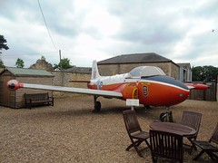 XP556 Jet Provost T4 (c/n W/14142) Cranwell (andrewt242) Tags: xp556 jet provost t4 cn w14142 cranwell