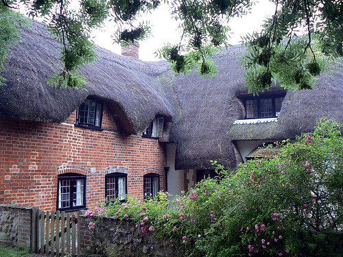 Thatched Brick House