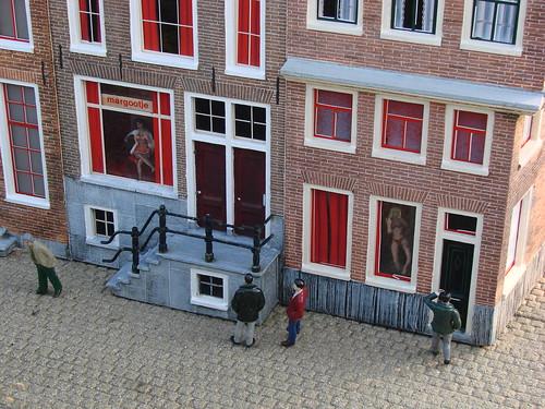Maquette du quartier rouge de Lfchavier@Flickr