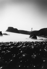 Cobble Beach (Zeb Andrews) Tags: beach beautiful oregon 510fav wow wonderful coast lighthouses seascapes great pinhole pacificocean pacificnorthwest zeroimage ilfordpanf zero69 bluemooncamera zebandrews zebandrewsphotography