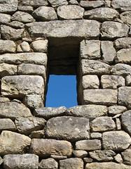 Pool (amy allcock) Tags: peru window june machu picchu inca stonework 2006 trapeziod perumosaic