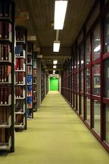 Green spot (arnd Dewald) Tags: light green buch book licht university library bibliothek shelf universitt grn bochum ruhrgebiet regal bcher leuchte ruhrpott ruhruniversitt libslibs librariesandlibrarians asymmetrya arndalarm