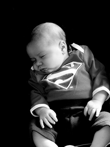 So Another Superman Is Born by ronmarshall