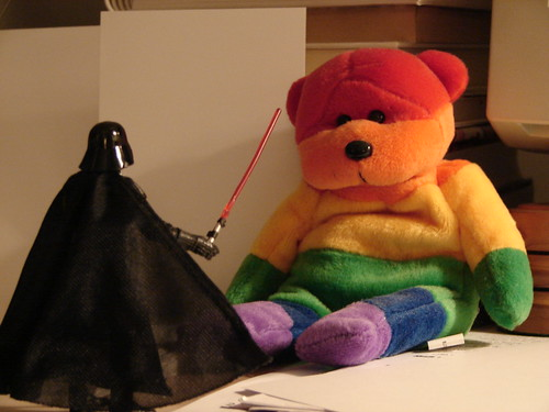 Darth Vader teddy bear