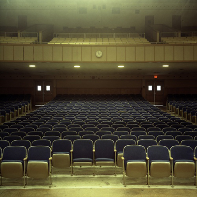 Hey, Hot Shot: Auditorium by James Rajotte