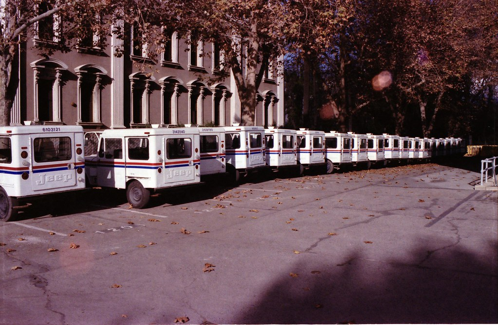 USPS Jeeps by doophallus, on Flickr