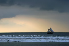 sail away (Sabinche) Tags: sea germany warnemnde quality balticsea sabinche sailship mecklenburgvorpommern mywinners abigfave