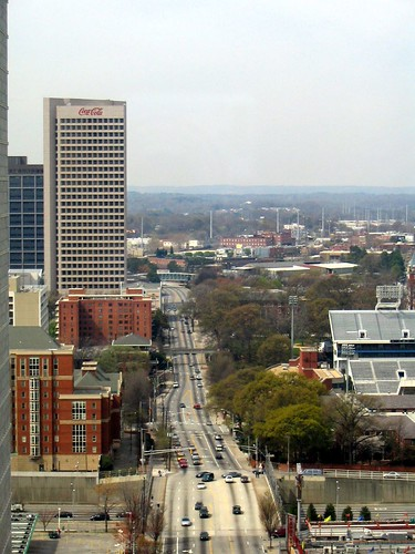 North Avenue and Coca-Cola Headquarters - Atlanta, Georgia