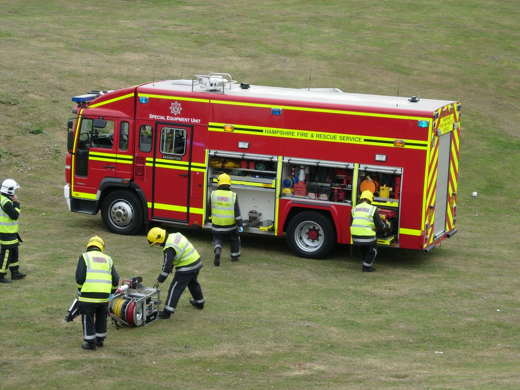 Hampshire Special Equipment Unit 25 June 2006