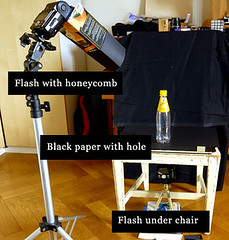 FlashSetupWater (l_arned) Tags: water setup strobist