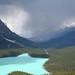Storm approaching Lake Peyto