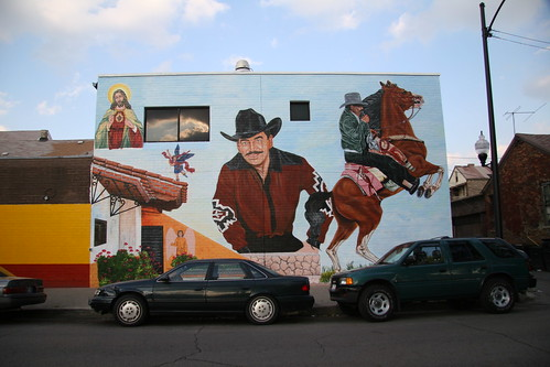 New Pilsen Mural of Joan Sebastian