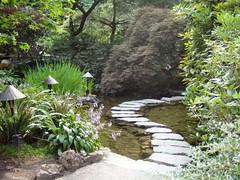 Japanese garden, Butchart Gardens - by Kanikoski