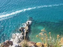 Scia (Wake) (alexandros80) Tags: sea wake mare liguria finaleligure varigotti lifetravel