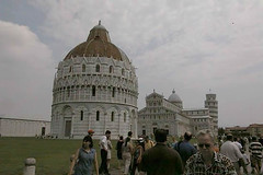 The one and only interesting spot in Pisa