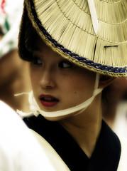Awa Odori (ajpscs) Tags: street people music festival japan japanese tokyo dance nikon dancers streetphotography f100 d100 matsuri awaodori geta theface koenji suginami awadance suginamiku 杉並区 ajpscs norulesnolimitationsnoboundariesitslikeanart obun thedanceofthefools
