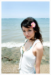 (AehoHikaruki) Tags: summer portrait people girl beautiful nice interesting asia sweet great chinese taiwan lovely cosmetics  dreamreload beachwear  aehohikaruki