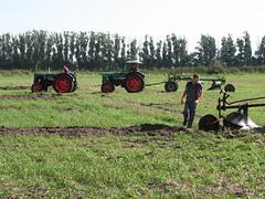 Gespann vor dem Pflug (SteffenKahl) Tags: germany traktor 2006 dorffest pflug ragow