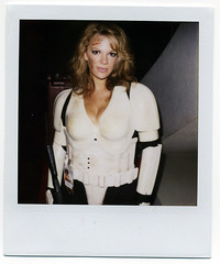 Stormtrooper Girl (This Is A Wake Up Call) Tags: costumes atlanta sexy polaroid star dragon 2006 babe suit fantasy scifi stormtrooper wars slr680 con bodyarmor 779 dragoncon2006