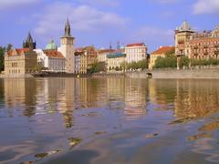 Paddling the Vltava (Trent Strohm) Tags: europe republic czech prague czechrepublic strudelmonkey