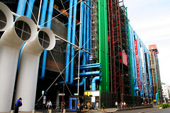Back of the Pompidou