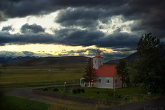 Laufs (Kpals) Tags: sky church nature landscape iceland god adventure holy priest vicar krist holyplace laufs niceland kpalsson
