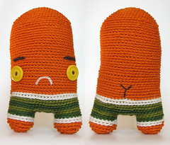 (sandra juto) Tags: orange white green wool yellow sad boxers crochet buttcrack softie softies ugly button swimmer asscrack bumcrack