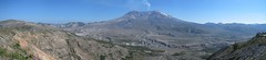 Mount St. Helens Panoramic (Ryan Hadley) Tags: autostitch panorama usa mountains nature landscape volcano washington panoramic crater cascades mountsthelens nationalmonument mtsthelens mountadams cascademountains lavadome johnstonridge mountsthelensnationalvolcanicmonument johnstonridgeobservatory southcascades