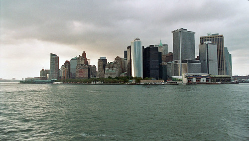 New York City Skyline from the Ferry