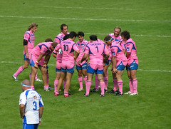 rugby (*alx*) Tags: pink paris france rugby hugethighs stadefrancaise