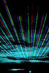 To Infinity & Beyond (flopper) Tags: light colors lines night dark geometry infinity fremont laser lasershow linear lightsource straightlines fremontca celebratefremont p1f1 excellentafterdark