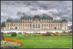 Palacio Belvedere (eCastillo) Tags: austria belvedere viena hdr palacio photofans