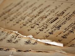 Old Sheet Music (Sarah Lindley Farnsworth) Tags: old music classic notes piano sheets sound wwwtorchdesignscom