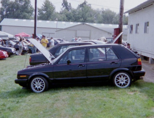 VW Golf, Mark 2