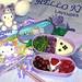 Hello Kitty lavender bento 9-01-06
