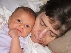 Cora and Grandma Danner