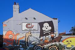 Dulo (michaelsmart) Tags: monster wall bar graffiti pirates sheffield octopus dulo