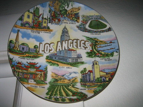 Los Angeles plate