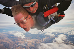 Skydiving in Gilroy