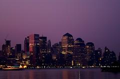 Shrouded in purple (pmarella) Tags: city nyc newyorkcity sky urban newyork reflections remember cityscape purple manhattan tranquility viewlarge hudsonriver lowermanhattan cityskyline in amomentintime riverviewpkproductions wanderingatnight shroudedinpurple creativityisseeinginadifferentlight