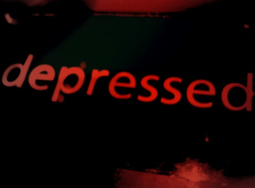 Depressed by Olly Farrell, on Flickr
