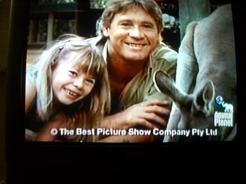 Steve Irwin con su hija Bindi