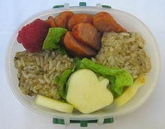 Pesto rice lunch for toddler (Biggie*) Tags: food apple cheese children lunch kid toddler child rice box lettuce sausages raspberry apples bento pesto raspberries cheddar packedlunch boxlunch bentobox  schoollunch biggie  brownbag lunchinabox  glutenfree  cocktailsausages  sacklunch   boxedlunch bentoblog brownbaglunch         ssbiggie lunchinaboxnet twittermoms